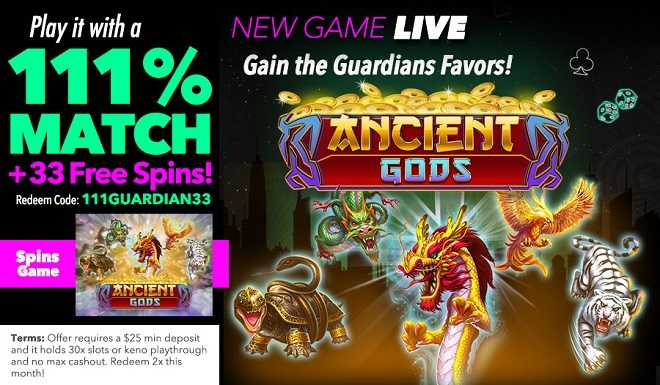 The Guardians of the Holy Hold Free Spins and Wins!