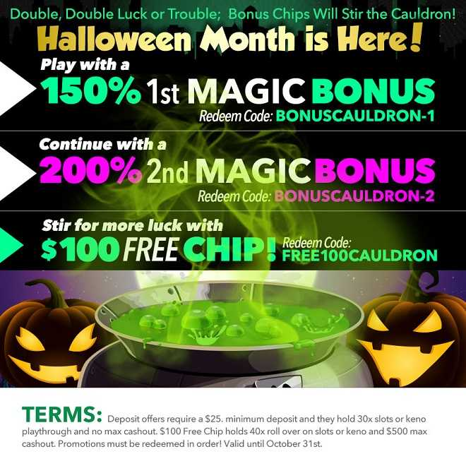 Bonus Chips Will Stir the Cauldron!