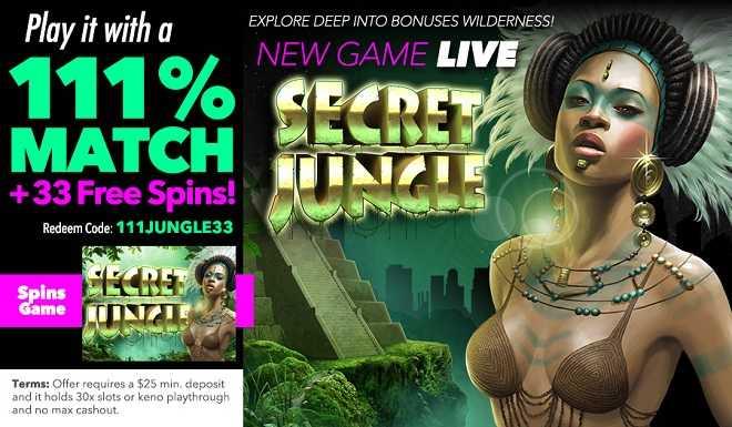 Secret Jungle Free Spins