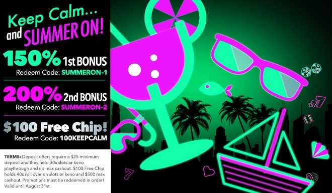 Uptown Aces $100 Free Chip