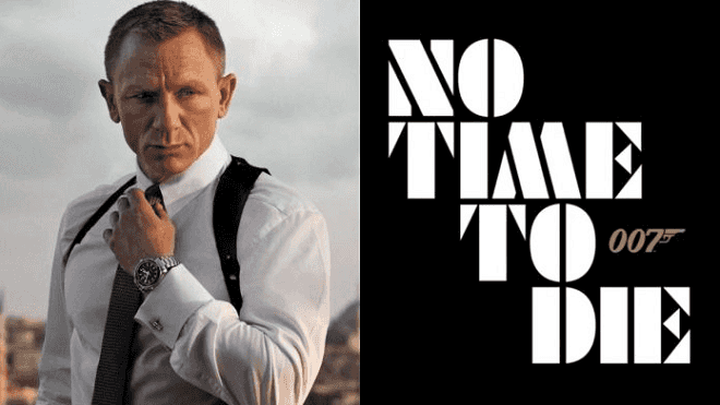 007 James Bond No Time to Die