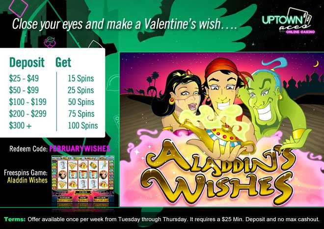 Your Winning Valentine Wishes Come True Uptown With 100