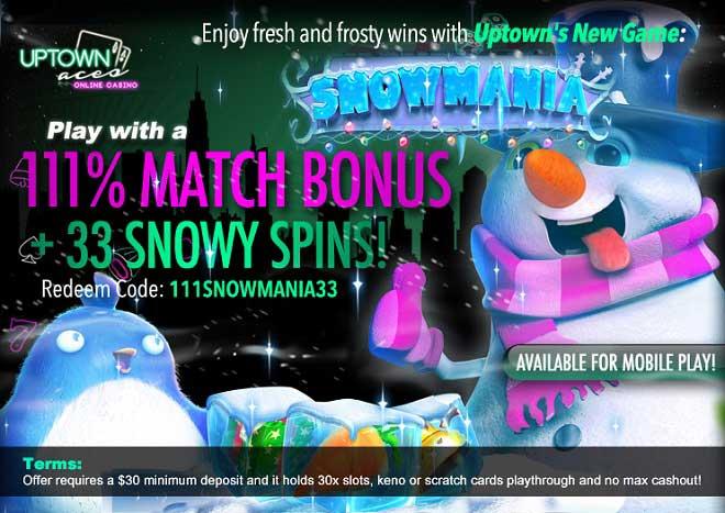 snowmania video slot