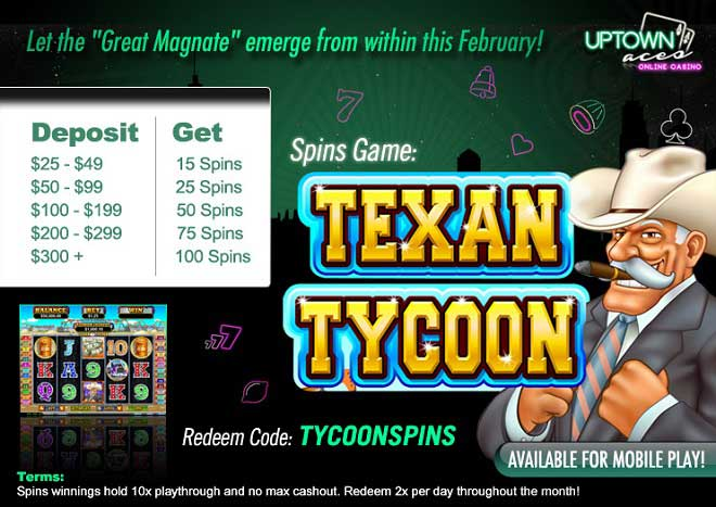 tycoon spins