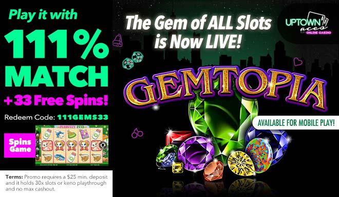 Gemtopia: Play Uptown's latest jewel