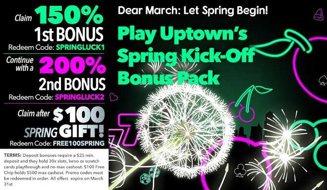 Spring Kick-Off Bonus Pack