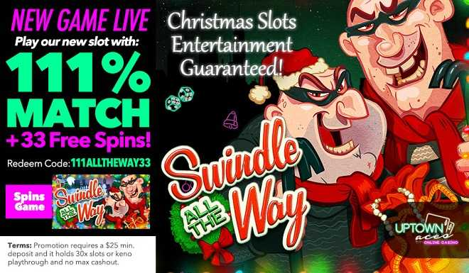 Swindle all the way Free Spins!